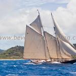 Antigua Classic Yacht Regatta 2017 - Race Day 3_3833