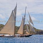 Antigua Classic Yacht Regatta 2017 - Race Day 3_3801