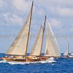 Antigua Classic Yacht Regatta 2017 - Race Day 3_3910
