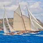 Antigua Classic Yacht Regatta 2017 - Race Day 3_3934